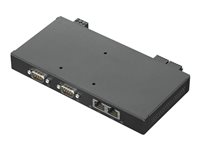 Lenovo ThinkCentre Nano IO Expansion Box - Dokkingstasjon - USB-C 3.1 Gen 1 - GigE - for ThinkCentre M90n-1 IoT 11AH, 11AJ, 11AK, 11AM (nano), 11AS 4XH0X77236